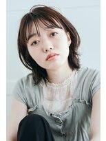 リル ヘアーデザイン(Rire hair design)【Rire-リル銀座-】外ハネシースルーボブ☆