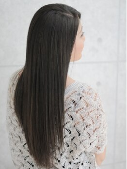 ヘアスタジオ ルピナス(Hair studio lupinus)の写真/ダメージレスな次世代縮毛矯正《クセストパー》取り扱いサロン♪憧れのナチュラルストレートを手に入れて♪