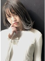 スティル(STILL un label)【STILL un label】バレイヤージュ☆ホワイトグレージュ