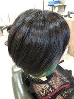 ヘアーアンドリフレッシュルアン(hair & refresh Ruan)インナーグラデーションボブ