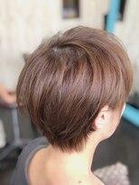 カイナル 関内店(hair design kainalu by kahuna)ドライヴカット×透明感カラー