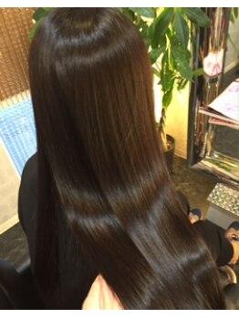 ヘアエステサロン ナチュール(Nature)の写真/《Nature》のエステストレートはハリ・コシ・ツヤが増して健やかな髪に♪髪を傷めず毛先までサラサラ☆