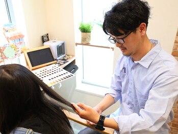 恋する毛髪研究所 金町laboの写真/カウンセリング重視で、お悩みに寄り添いご提案。居心地の良さを追求した癒しの空間で、キレイを身近に♪