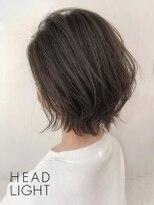 フローレス バイ ヘッドライト 三鷹店(hair flores by HEADLIGHT)グレージュ×大人カジュアルショート_SP20210202