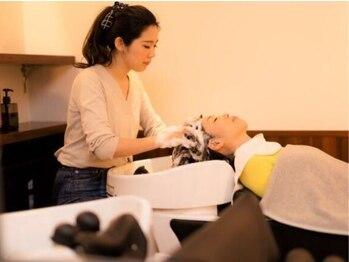 ランプブークル(LAMPE boucle)の写真/ゆったりとした時間が流れる大人の為の特別時間。人気≪うたたねSPA≫で髪も頭皮も、そして心も癒されて。