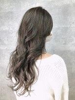 グランジュテ ヘアアンドスパ 新検見川(GRAND JETE Hair&Spa)透明感ロング 新検見川