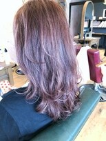 ヘアーサロン リアン 鴻巣店(hair salon Rien)春夏☆フォギーピンク
