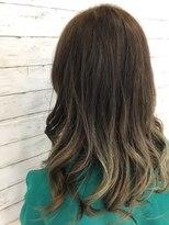 スパーク ヘアアンドフェイス(Spark HAIR&FACE)エメラルドグリーンのグラデーションカラー2!Spark[柳澤 陽光]