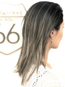 ヘアアンドメイク ロクロク(hair&make ROKUROKU)の写真/女性の魅力を惹き出す、色気そそるカラー♪瞳や肌の色を見極め、ハイ・ローライトを駆使した理想の髪色に…