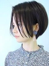 ラウンジ モリオ イケブクロ(Lounge MORIO Ikebukuro)【morio池袋】可愛くて色気のある黒髪小顔ショート♪