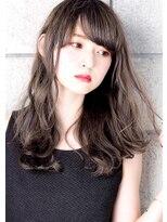 ヘアサロンガリカアオヤマ(hair salon Gallica aoyama)☆ 3Dカラー & 毛束感 ☆デザインカラーsemiロング♪
