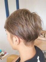 ルーナ ヘアラウンジ(Luuna hair lounge)メンズショートボブ