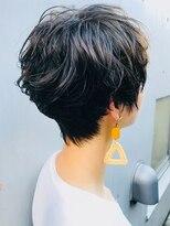 【morio 原宿】頭の形が良くなるショート 夏人気スタイル♪