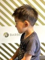 BARBER-BARのキッズスタイル