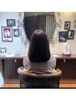 髪質改善ヘアエステ アリュール(allure)ツヤツヤストレートロング【新宿 髪質改善専門店 allure】
