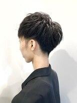 ティルヘアー(TiLL HAIR)メンズマッシュショート ブルーブラック