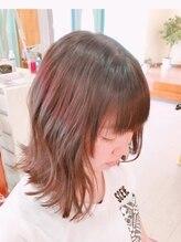 グリッター ヘアー(Glitter hair)外ハネ