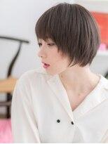 【macaron】ガーリーショート☆グレージュ