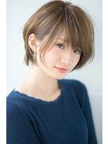 リル ヘアーデザイン(Rire hair design)【Rire-リル銀座-】顔周りのカットが大事☆ショートボブ