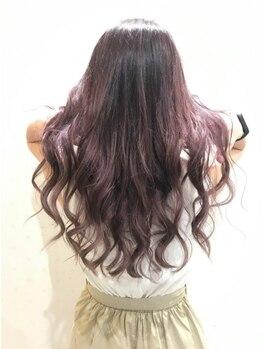 ヘアースペース ミツオ(hair space MITSUO)の写真/hair space mitsuoは自分至上☆一番似合うカラーリングを提案させて戴きます。