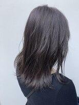 アリーズヘアー 青山(allys hair)ラベンダーグレージュ ◇ フェザーロング