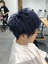 【tria】ブルーブラック