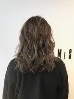 フレイムスヘアデザイン(FRAMES hair design)ブリーチ無しナチュラルハイライトバレイヤージュ×グレージュ