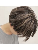 チクロヘアー(Ticro hair)ticro大石ショートハイライト
