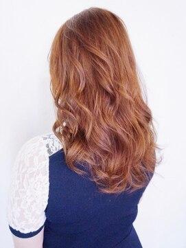 セシルヘアー 岡山駅前店(Cecil hair)外国人風こなれルーズカール