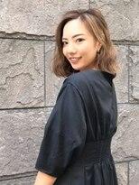 【Reir 吉祥寺】*シフォンボブ+エクルベージュ*