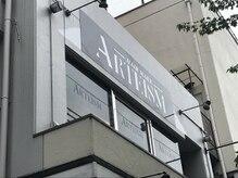 ヘアメイク アルティズム(HAIR MAKE ARTEISM)の雰囲気(ビルの2階です。)