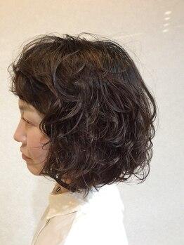 ヘアーアンドビューティー ルクシア(hair&beauty LUXIA)の写真/お客様の雰囲気・髪質・髪のお悩みを考慮し、あなただけのスタイルをご提案!!朝のスタイリングも簡単に◎