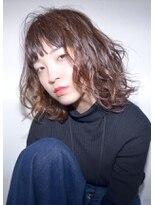 クリアーオブヘアー 栄南店(CLEAR of hair)【CLEAR】ヌーディーウェーブボブ