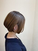 ヘアーガーデン オーパスリンク 池袋(hair garden Opus Link)ショートボブ*耳かけ
