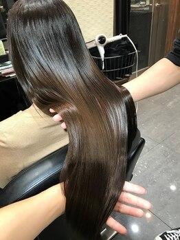 """ルーチェ ヘアーデザイン(Luce Hair design)の写真/プラーミア/ハホニコ/アマトラ/アルガンオイル取扱い!あなたにあった厳選Trで""""輝く艶と潤い""""を池袋で…★"""