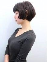 モリオ 池袋店(morio FROM LONDON)【morio池袋】可愛いエフォートレス黒髪ショートボブ