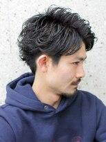 ザ サードヘアー 津田沼(THE 3rd HAIR)最高の横顔ブロックマッシュリバース かき上げヘア