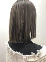 ポッシュ 原宿店(HAIR&MAKE POSH)ベージュブラウン×クリームハイライト