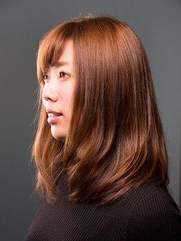 諏訪美容室貝塚店の写真/ワンランク上にこだわった髪質ケアで洗練された大人女性に☆癒されながら傷んだ髪を本格補修!頭皮ケアも◎