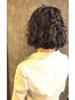 カスピエ(casse-pied)とれやすい髪質のためのしっかりパーマ