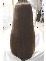 アッシュ 伊勢崎(ash)20代30代40代/髪質改善/艶感ストレートロング/透明感