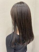 透明感カラー×髪質改善トリートメントでカラーをしながら自分史上最高のレア髪を目指しませんか?