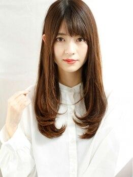レリー(Rely)の写真/<伊丹>大人可愛いうる艶髪に『髪質改善ト リートメントTOKIO』傷んだ髪の救世主★/イルミナカラーも◎