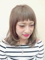 ニコ ヘアーアンドメイク(nico hair&make)nico オン眉ギザmixミディアム