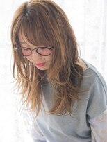 オジコ(ojiko)☆月曜営業☆【ojiko.】ウェット質感で大人可愛いロングレイヤー