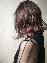 ヒスヘアー クリエイティブスペース(hys hair creative space by lauto)ユニコーンカラー