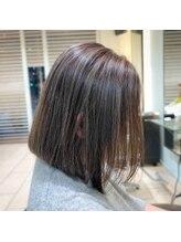 オーガニックヘアサロン(Organic Hair Salon byEQ)脱白髪染めハイライト