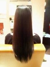 ヘアメイク ビアンエートル(hair make bie etre)艶髪ロングヘア