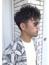 リーフ(hairmake Leaf)メンズパーマスタイル