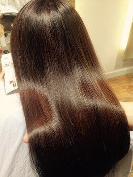 """スプラウト 柏(SPROUT)の写真/ただ伸ばすだけじゃなく、スタイリングしやすい髪になる""""SPROUT""""の水矯正!毛先にデジパーの併用もOK♪"""